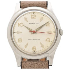 Vintage Benrus Stainless Steel Watch, 1960s