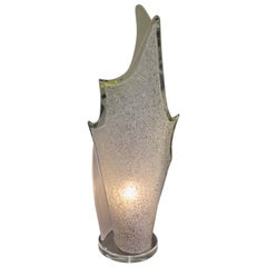 Vintage Bent Lucite Lamp