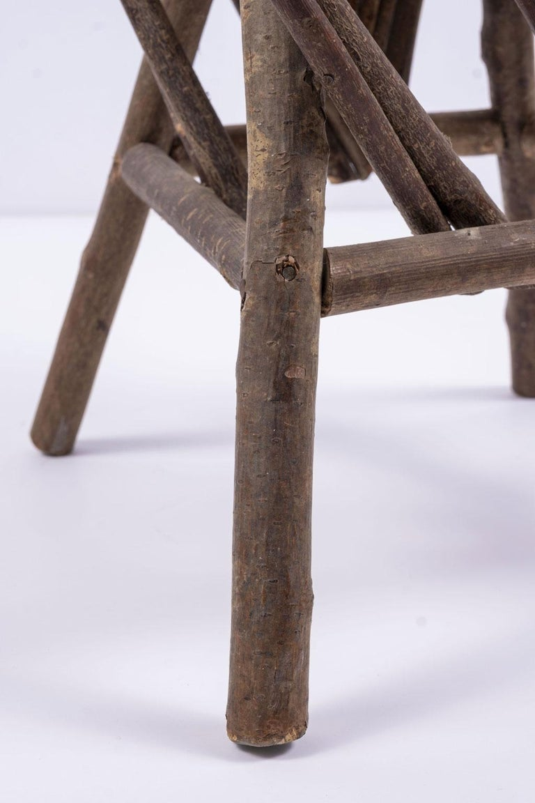 American Vintage Petite Bent-Willow Chair For Sale