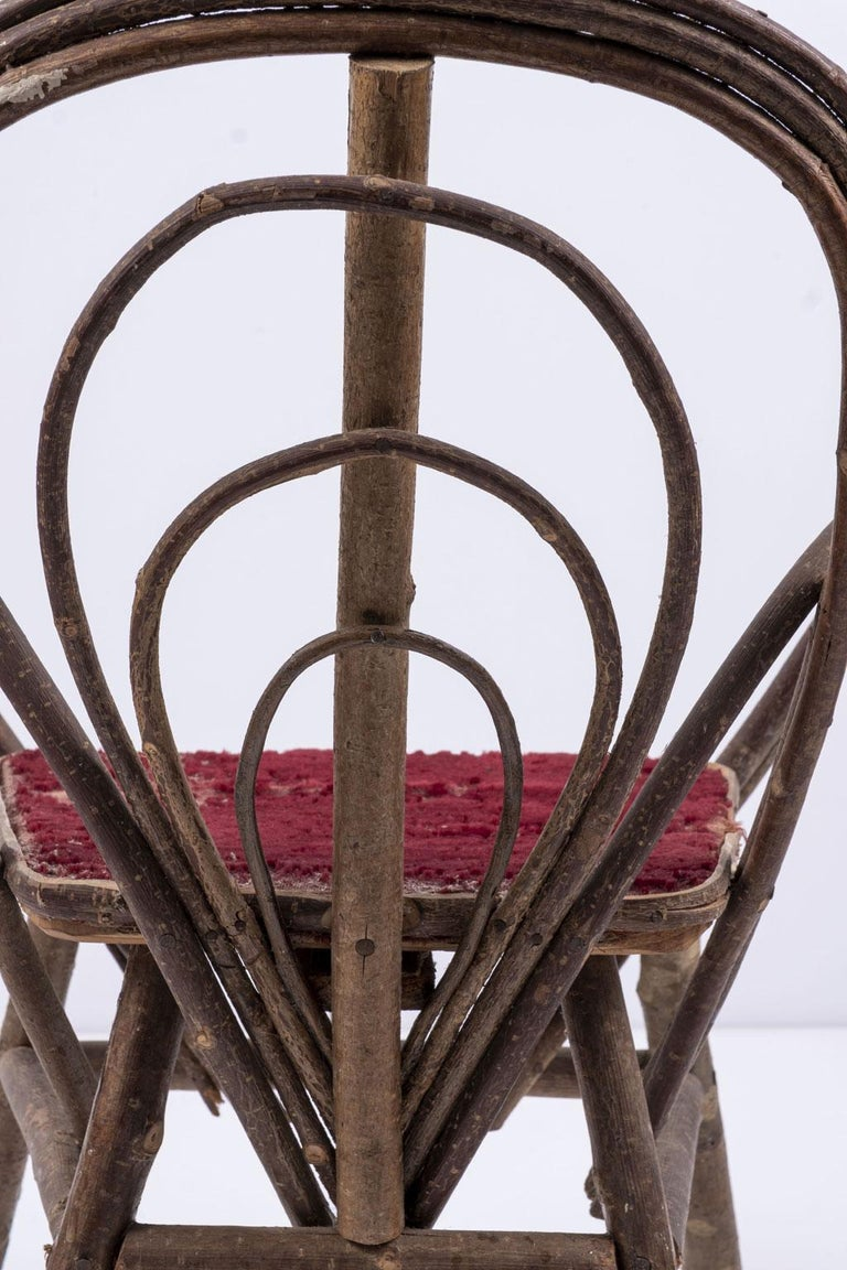 Bentwood Vintage Petite Bent-Willow Chair For Sale
