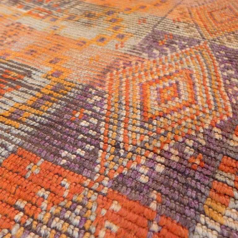 Vintage Berber Moroccan Rug For Sale 7