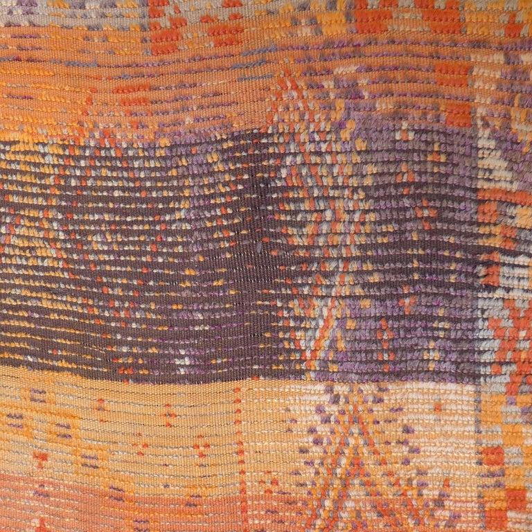 Vintage Berber Moroccan Rug For Sale 1