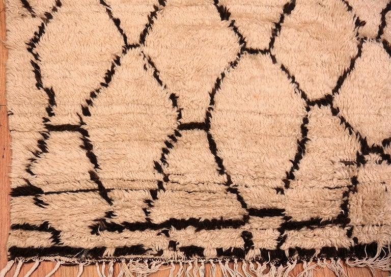 Tribal Vintage Berber Moroccan Rug For Sale