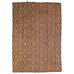 Vintage Berber Tuareg Mat Rug