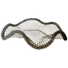 Vintage Bespoke Wire Sculptural Bowl