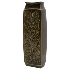 Vintage Big Ceramic Vase, Czechoslovakia, 1970s