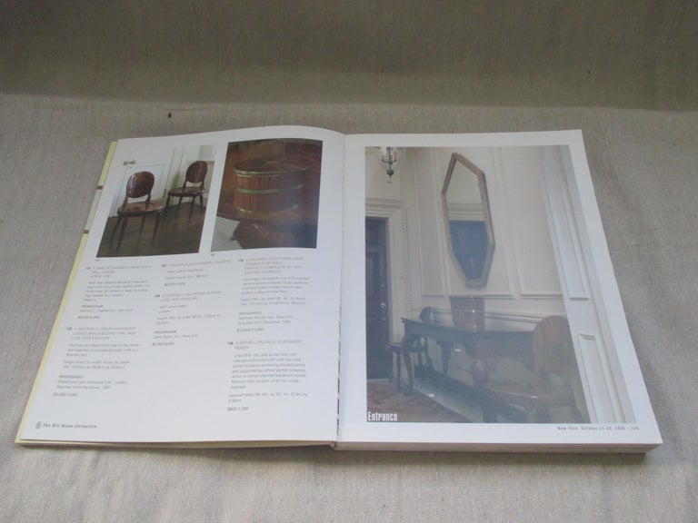 American Classical Vintage Bill Blass Collection Softcover Catalogue Raisonné by Sotheby 1983 For Sale