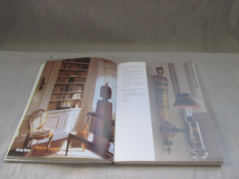 Vintage Bill Blass Collection Softcover Catalogue Raisonné by Sotheby 1983 In Fair Condition For Sale In Oakland Park, FL