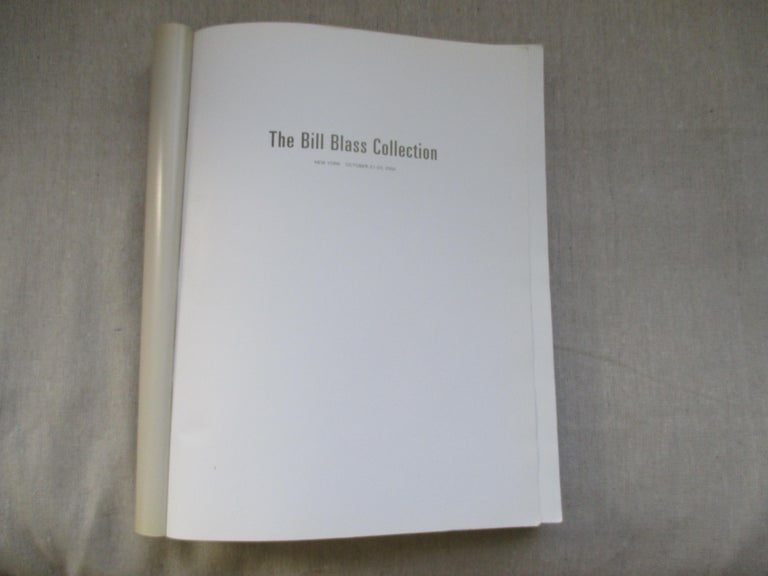 Vintage Bill Blass Collection Softcover Catalogue Raisonné by Sotheby 1983 For Sale 1