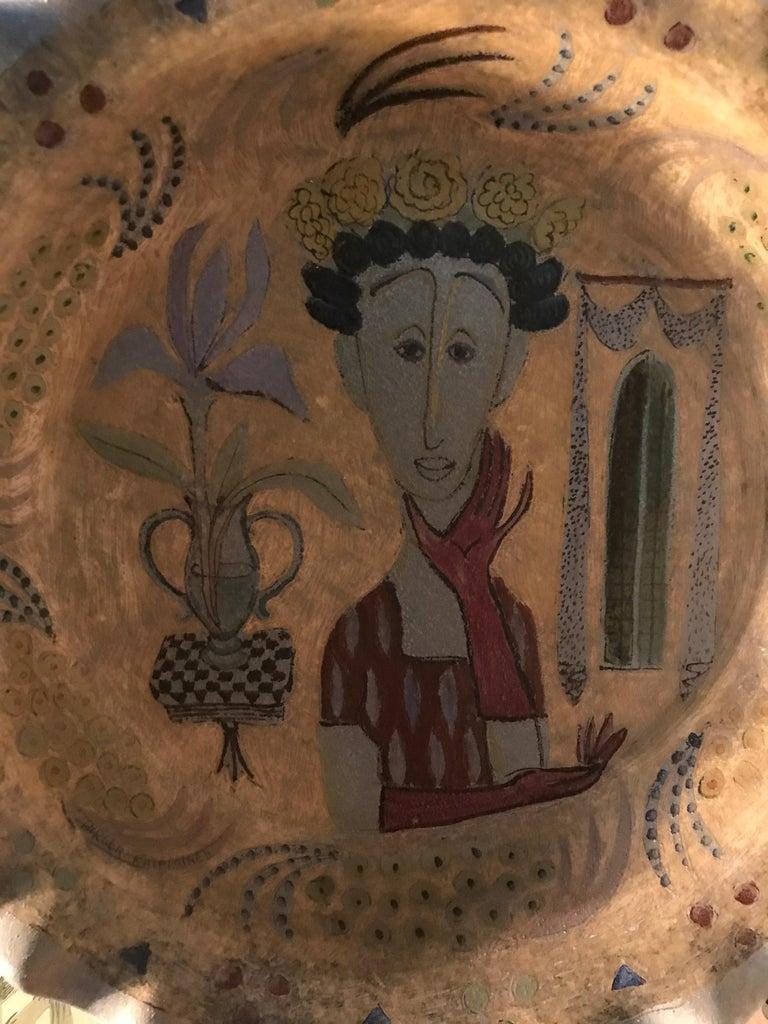 Finnish Vintage Birger Kaipiainen Ceramic Platter For Sale