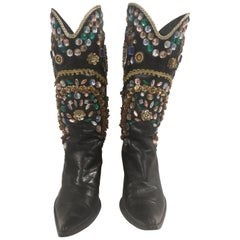 Vintage Black Boots