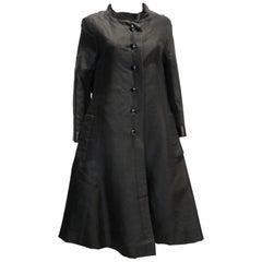 Vintage Black Evening Coat