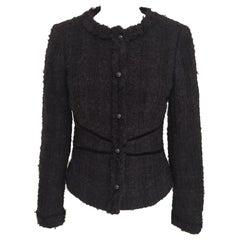 Vintage black MIGI wool jacket