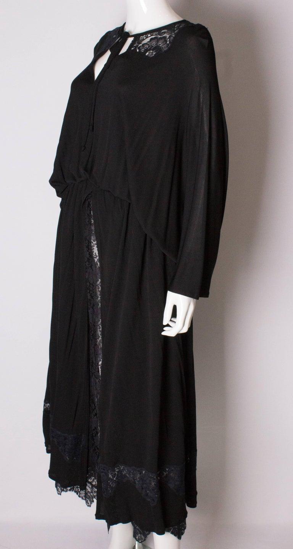 Vintage Black Quorum Dress For Sale 1