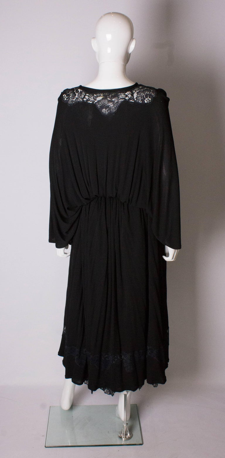 Vintage Black Quorum Dress For Sale 4