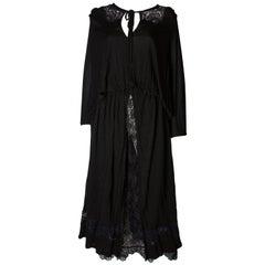 Vintage Black Quorum Dress