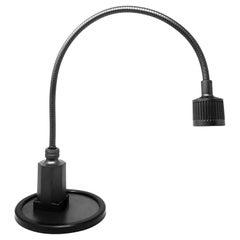 Vintage Black Sunnex Gooseneck Desk Lamp