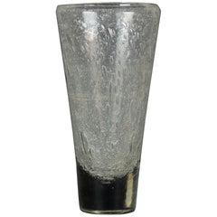 Vintage Blown Glass Vase, Italy, 1970s