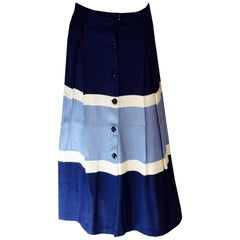 Vintage Blue and White skirt