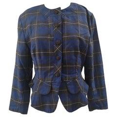 Vintage blue black jacket