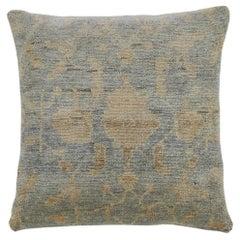 Mid-Century Modern Decorative Gray Throw Pillow