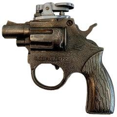 Vintage 'Body Guard 22 Revolver' Gun Lighter