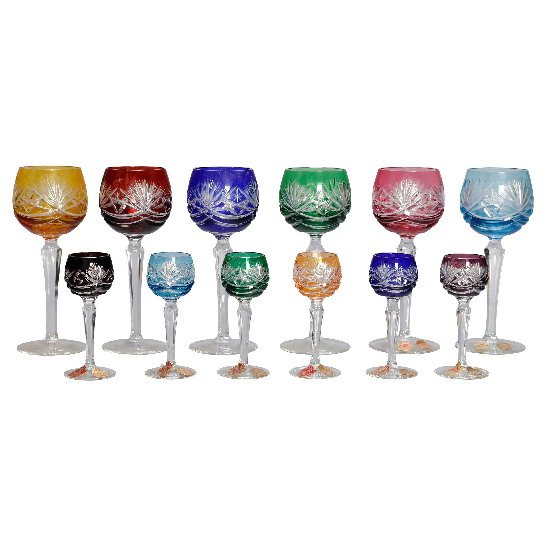 6 Echt Bleikristall ~ Crystal Wine