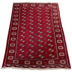 Vintage Bokhara Afghan Rug