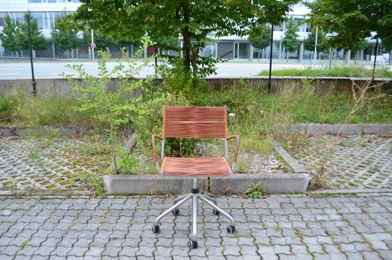 Vintage Bonacina Miss B Classic Wheels Office Chair by Tito Agnoli For Sale 11