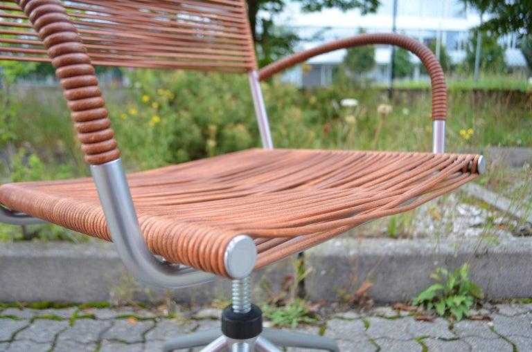 Vintage Bonacina Miss B Classic Wheels Office Chair by Tito Agnoli For Sale 12