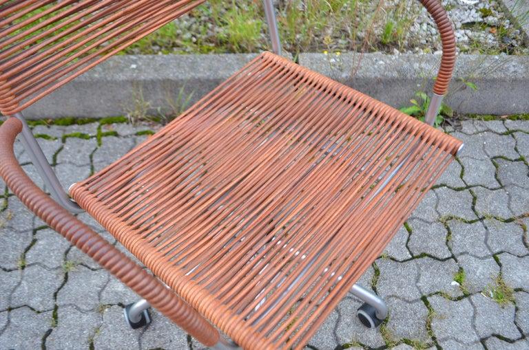 Vintage Bonacina Miss B Classic Wheels Office Chair by Tito Agnoli For Sale 13