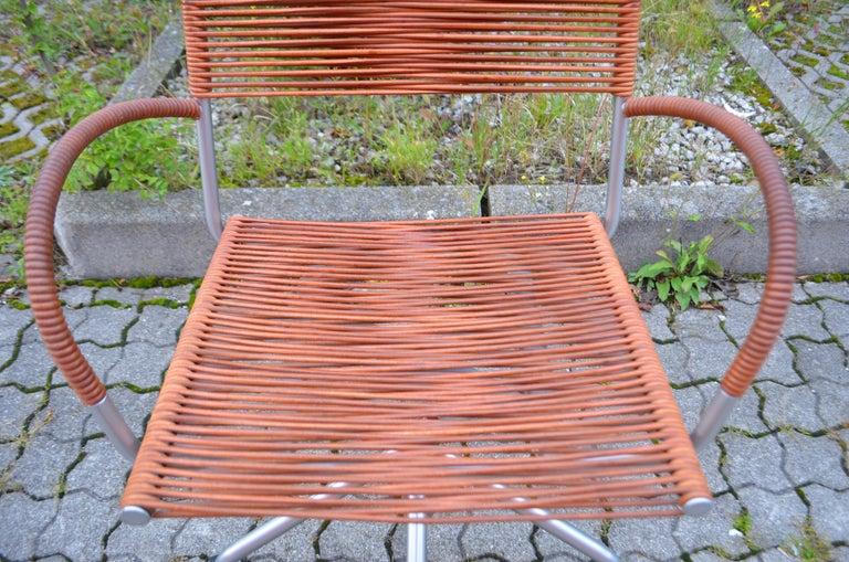 Italian Vintage Bonacina Miss B Classic Wheels Office Chair by Tito Agnoli For Sale