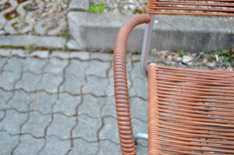 Vintage Bonacina Miss B Classic Wheels Office Chair by Tito Agnoli For Sale 1