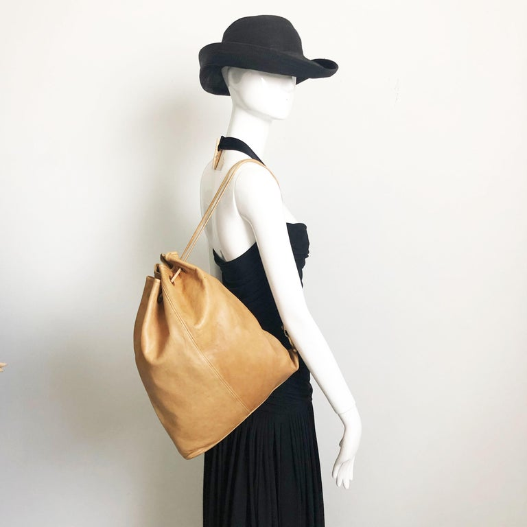 Vintage 60s Bonnie Cashin for Coach Sling or Drawstring bag with rare