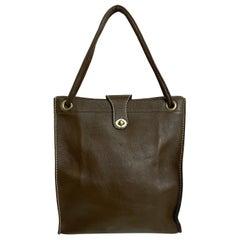 Vintage Bonnie Cashin for Coach Bag Cashin Carry Leather Tote 1960s Rare