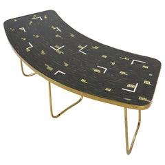 Vintage Boomerang Coffee or Side Table by Berthold Müller, 1950s