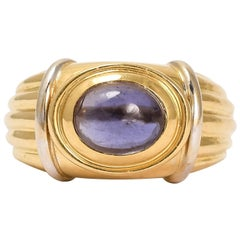 "Vintage Boucheron Iolite ""Jaïpur"" Ring"