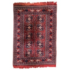 Vintage Boukhara Turkmen Rug