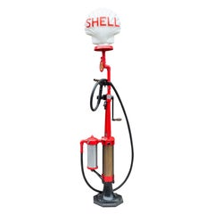 Vintage Bowser Shell Gas Pump