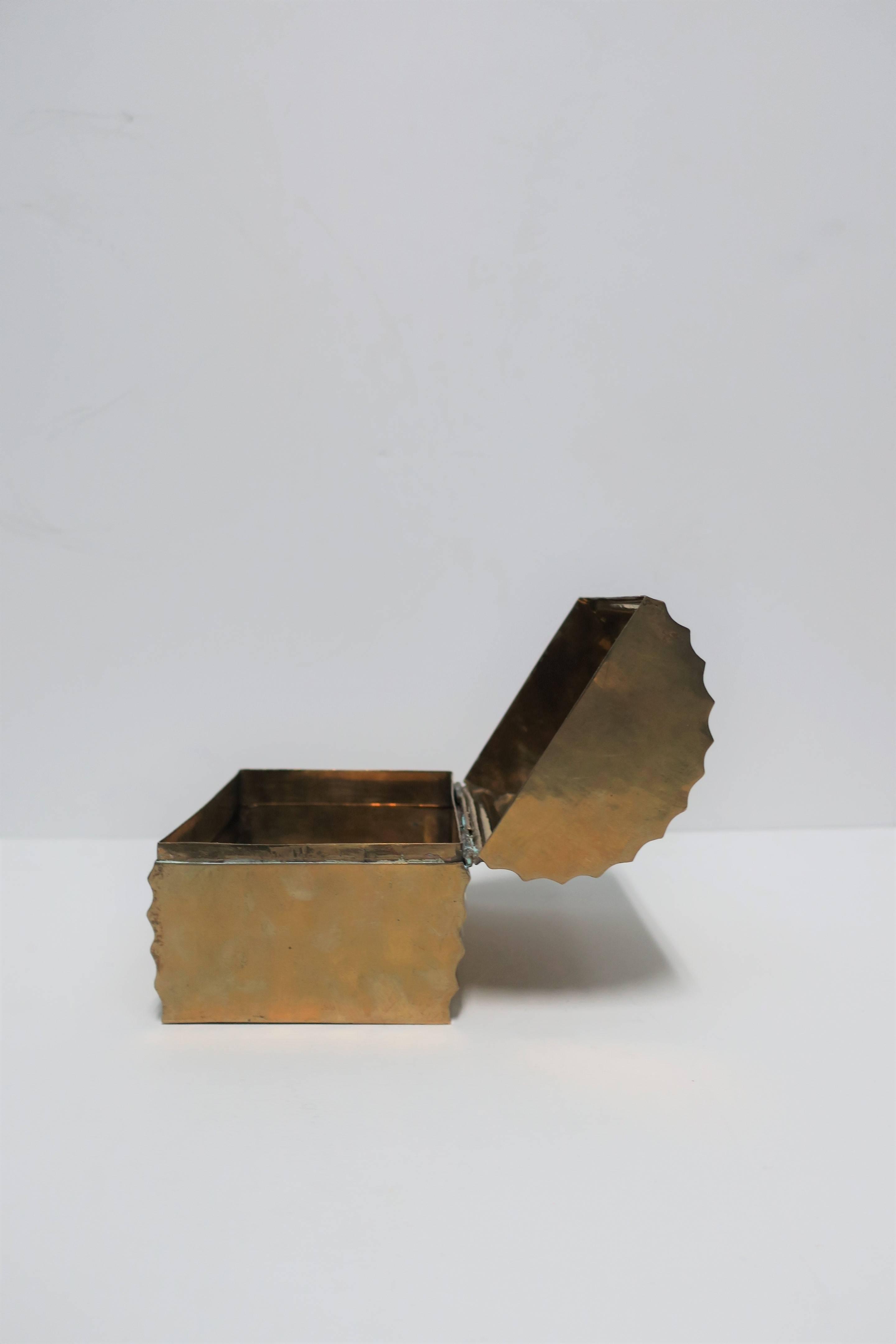Vintage Brass Box For Sale At 1stdibs