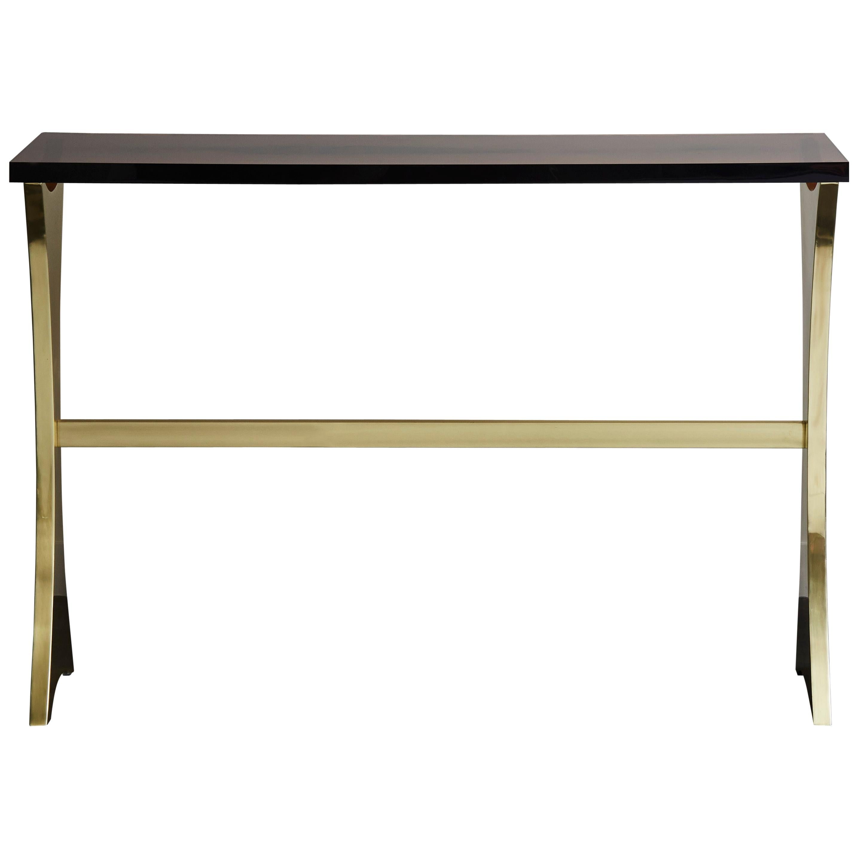 Vintage Brass Console at Cost Price