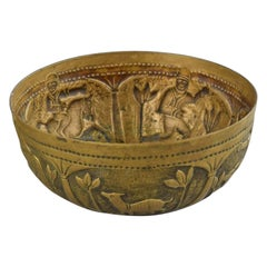 Vintage Brass Cup, South Eastern Asia, Early 20th Century