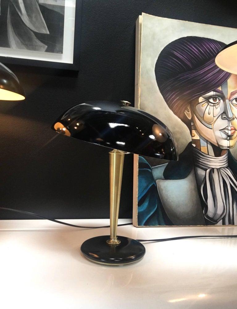 Modern Vintage Brass Desk Lamp, 1950s For Sale