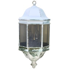 Vintage Brass Hanging Lantern