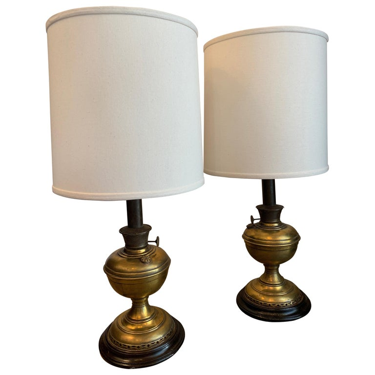 Brass Lamps by Beacon Home Supply CO For Sale