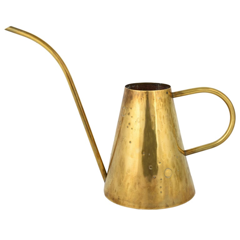 Vintage Brass Watering Can, Germany, 1950s For Sale
