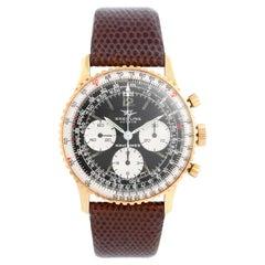 Vintage Breitling Navitimer Men's Steel Chronograph Watch 806
