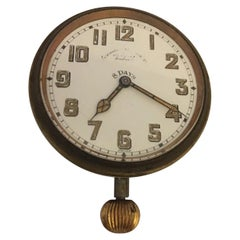 Vintage Brevet Swiss Car Clock