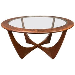 "Vintage British Mid-Century Modern Teak ""Astro"" Coffee Table by G Plan"