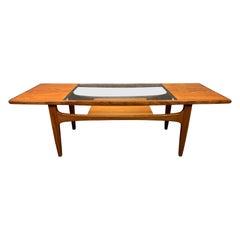 "Vintage British Mid-Century Modern Teak ""Fresco"" Coffee Table by G Plan"